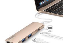 QACQOC GN22B PREMIUM USB-C HUB